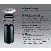 13 Liter Ergo-Master Kunststoff-Eimer
