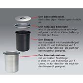 5 Liter Ergo-Master Aluminium-Eimer