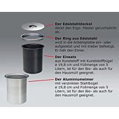 5 Liter Ergo- Master Kunststoff-Eimer